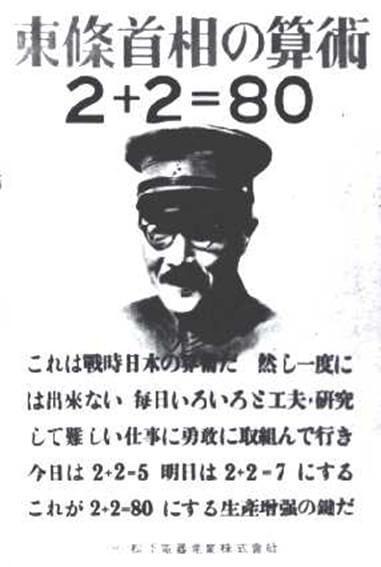 東条英機の算術